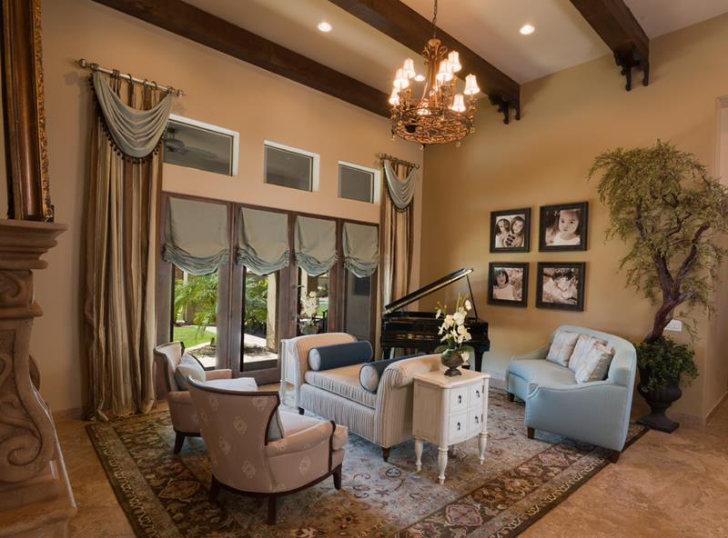 68 Interior Designs For Grand Living Rooms-43