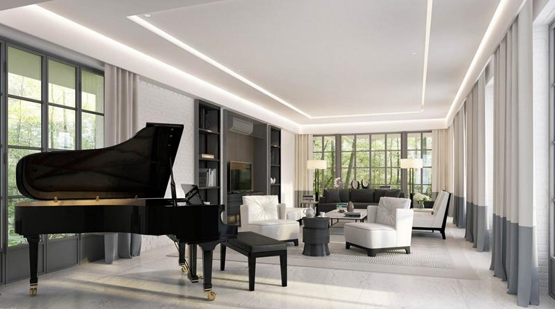 68 Interior Designs For Grand Living Rooms-49