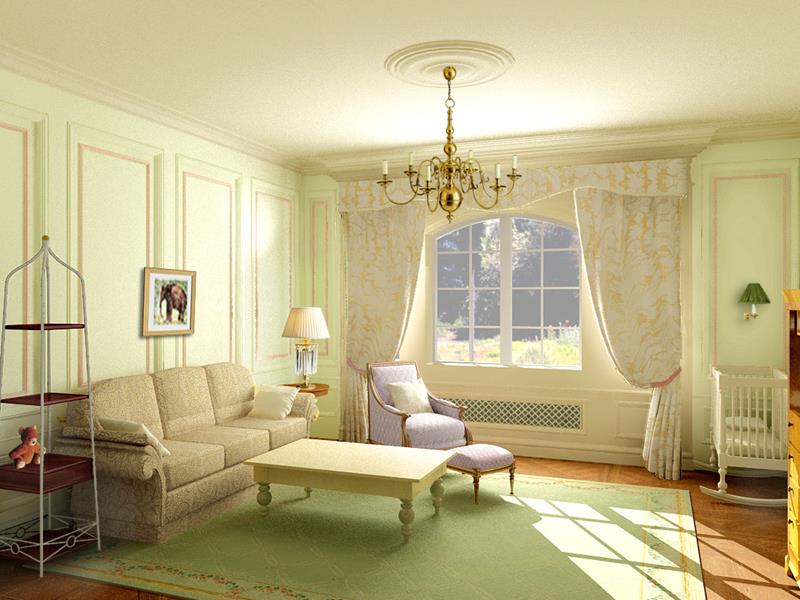 68 Interior Designs For Grand Living Rooms-51