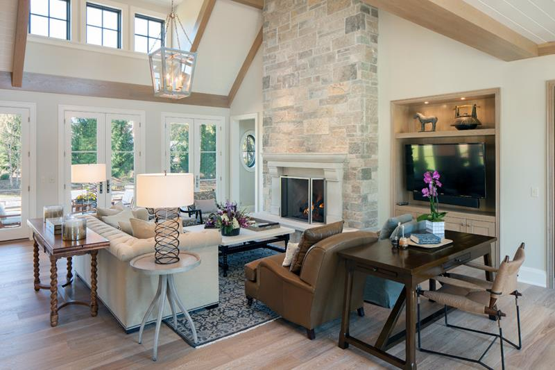 68 Interior Designs For Grand Living Rooms-53