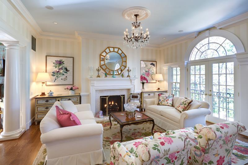 68 Interior Designs For Grand Living Rooms-54