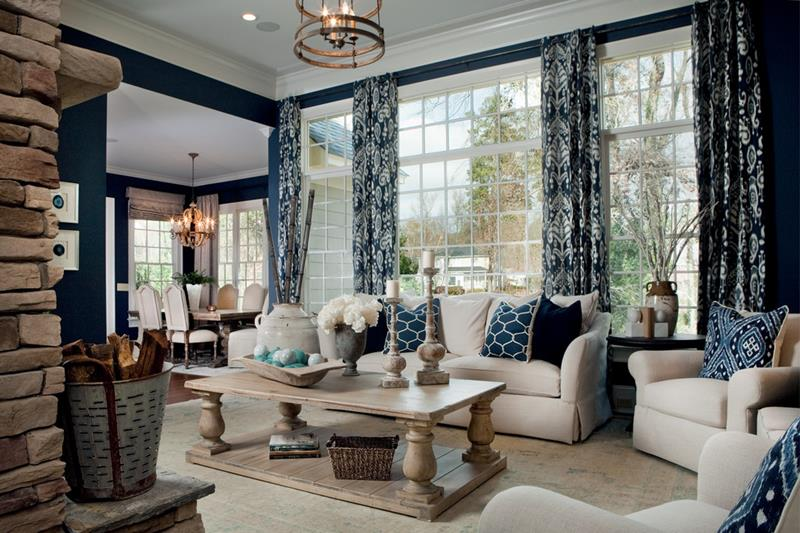 68 Interior Designs For Grand Living Rooms-58