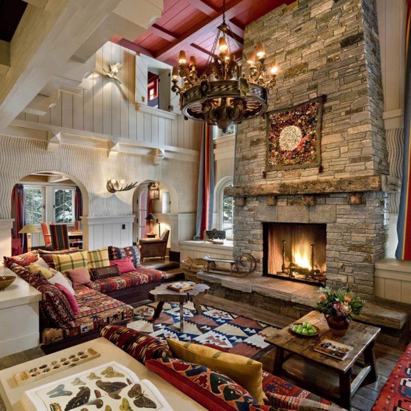 68 Interior Designs For Grand Living Rooms-59