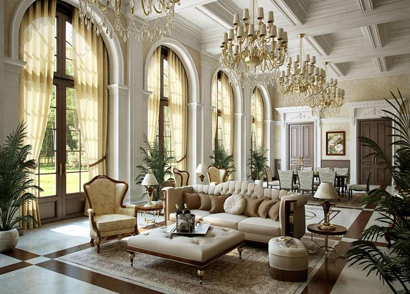 68 Interior Designs For Grand Living Rooms-title