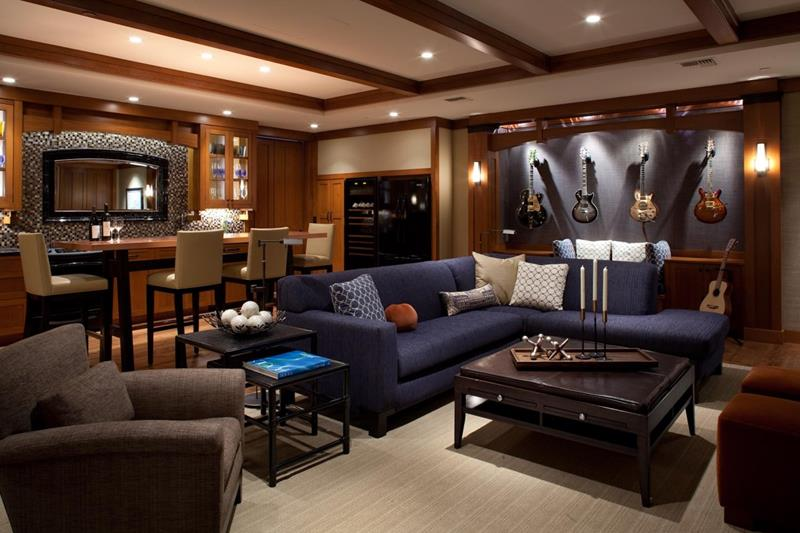 70 Awesome Man Caves In Finished Basements And Elsewhere-6
