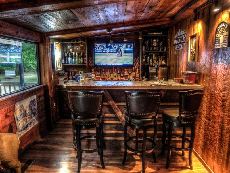 70 Awesome Man Caves In Finished Basements And Elsewhere-7