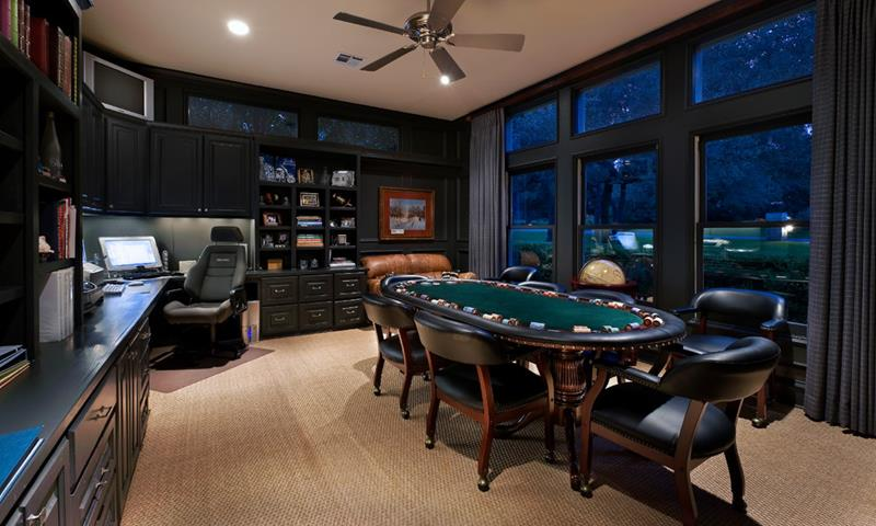 70 Awesome Man Caves In Finished Basements And Elsewhere-9