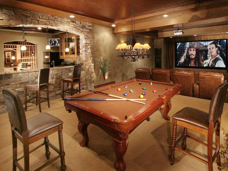 70 Awesome Man Caves In Finished Basements And Elsewhere-title
