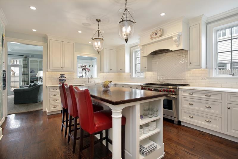 72 Luxurious Custom Kitchen Island Designs-16