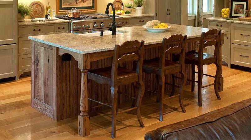 72 Luxurious Custom Kitchen Island Designs-17