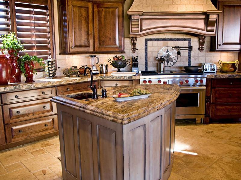 72 Luxurious Custom Kitchen Island Designs-19