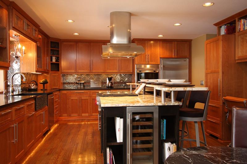 72 Luxurious Custom Kitchen Island Designs-21