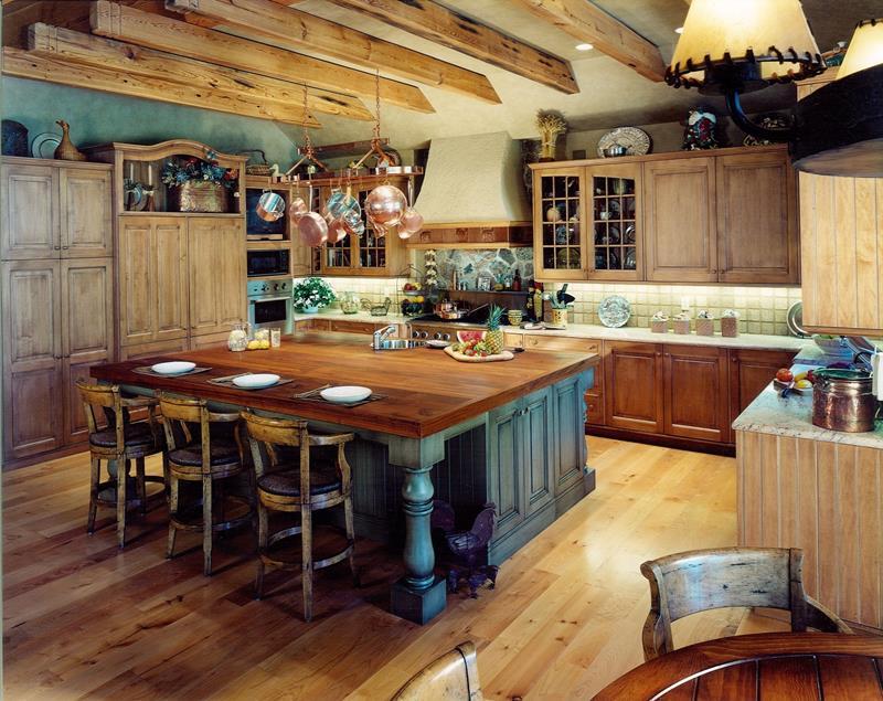 72 Luxurious Custom Kitchen Island Designs-29