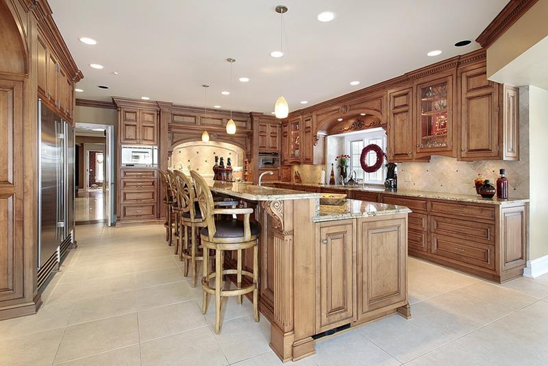 72 Luxurious Custom Kitchen Island Designs-3