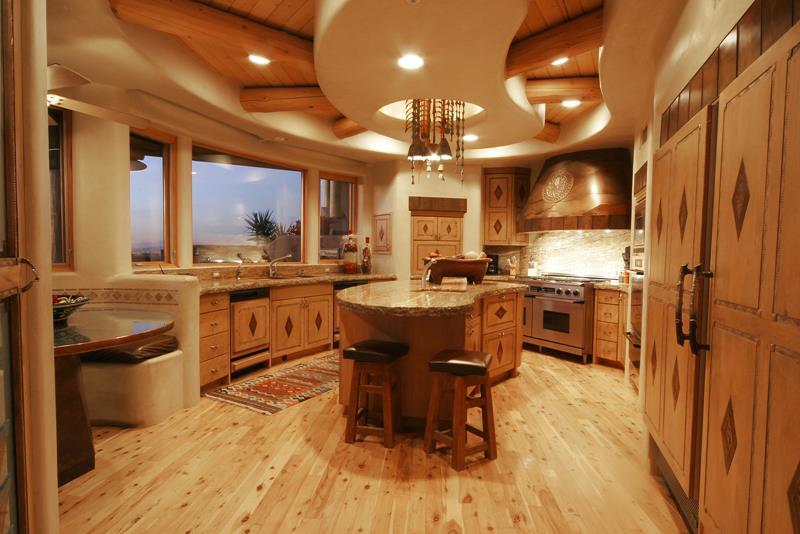 72 Luxurious Custom Kitchen Island Designs-31