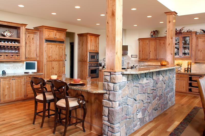 72 Luxurious Custom Kitchen Island Designs-33