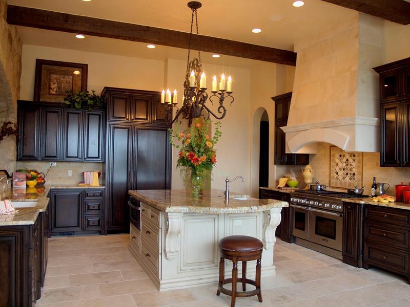 72 Luxurious Custom Kitchen Island Designs-34