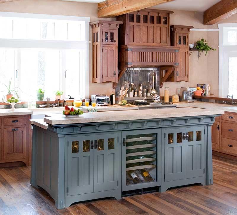 72 Luxurious Custom Kitchen Island Designs-4