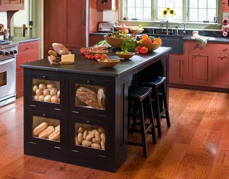 72 Luxurious Custom Kitchen Island Designs-5