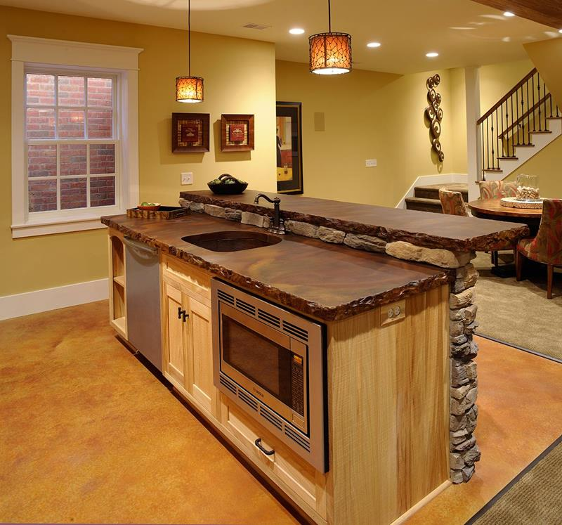 72 Luxurious Custom Kitchen Island Designs-50