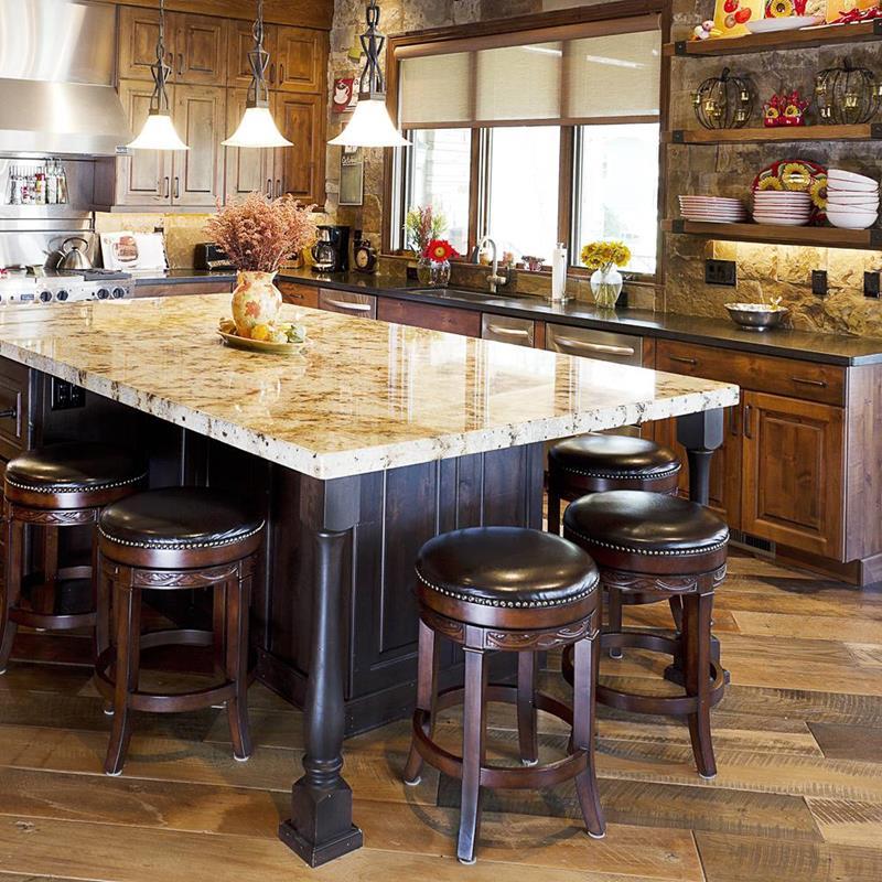 72 Luxurious Custom Kitchen Island Designs-9