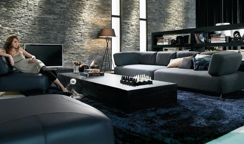 91 Designs For Casual and Formal Living Rooms-45