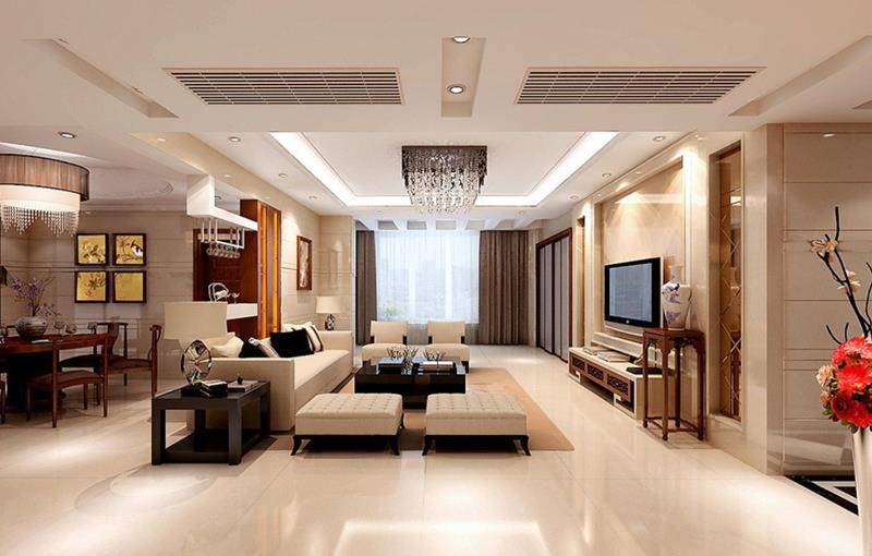 91 Designs For Casual and Formal Living Rooms-70