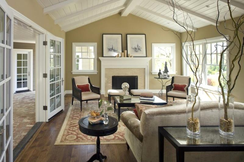 91 Designs For Casual and Formal Living Rooms-77