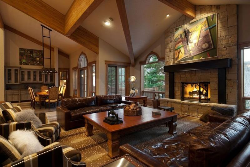 91 Designs For Casual and Formal Living Rooms-89