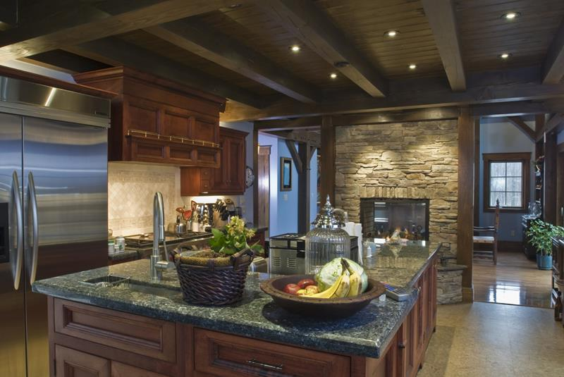 134 Incredible Luxury Kitchen Designs-121