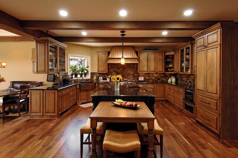 134 Incredible Luxury Kitchen Designs-124