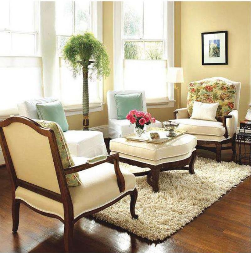 18 Pictures With Ideas for the Layout of Small Living Rooms-10