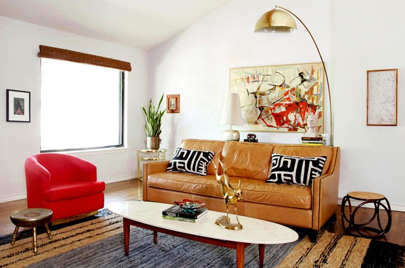18 Pictures With Ideas for the Layout of Small Living Rooms-5