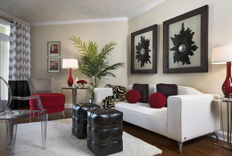 18 Pictures With Ideas for the Layout of Small Living Rooms-7