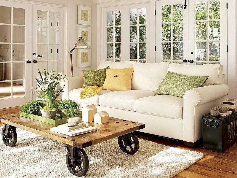 18 Pictures With Ideas for the Layout of Small Living Rooms-9