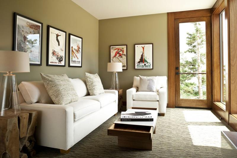 image named 18 Pictures With Ideas for the Layout of Small Living Rooms title