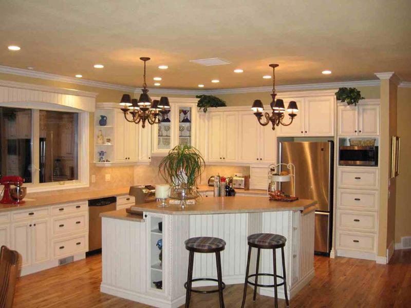 22 Stunning Kitchen Designs With White Cabinets-13