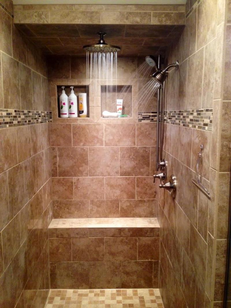 23 Stunning Tile Shower Designs-16