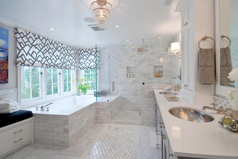 23 Stunning Tile Shower Designs-22