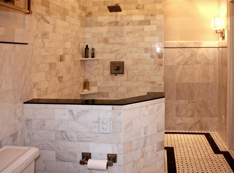 image named 23 Stunning Tile Shower Designs title