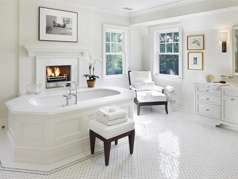 24 Luxury Master Bathrooms With Soaking Tubs-16
