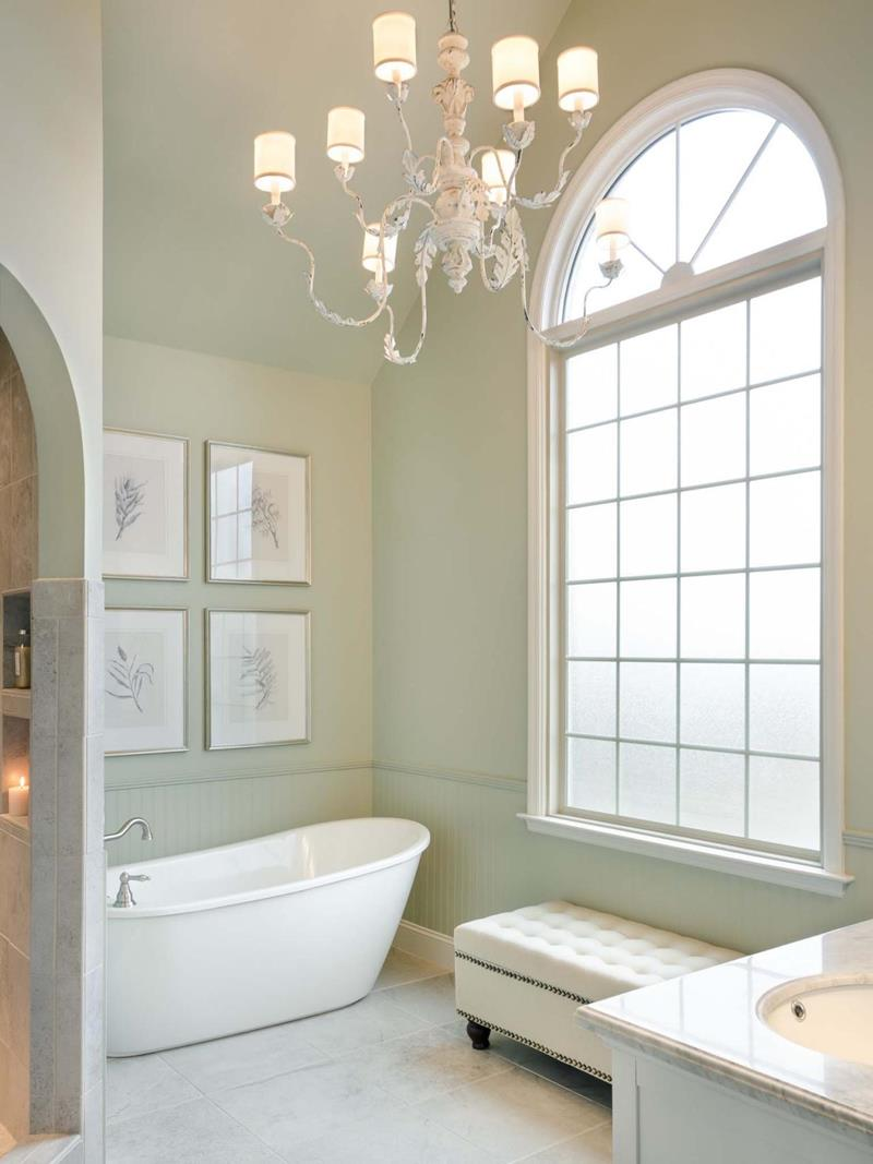 24 Luxury Master Bathrooms With Soaking Tubs-21