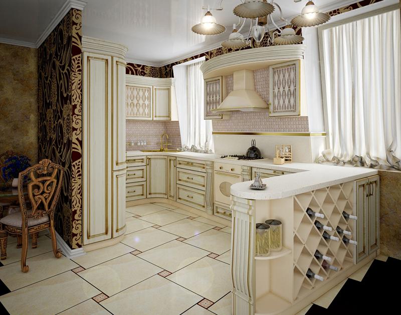 24 Traditional Kitchen Designs-20