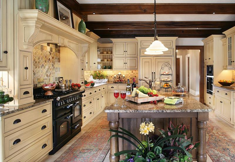 image named 24 Traditional Kitchen Designs title