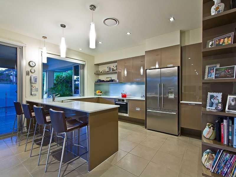 52 U Shaped Kitchen Designs With Style-23