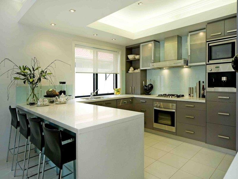 image named 52 U Shaped Kitchen Designs With Style title