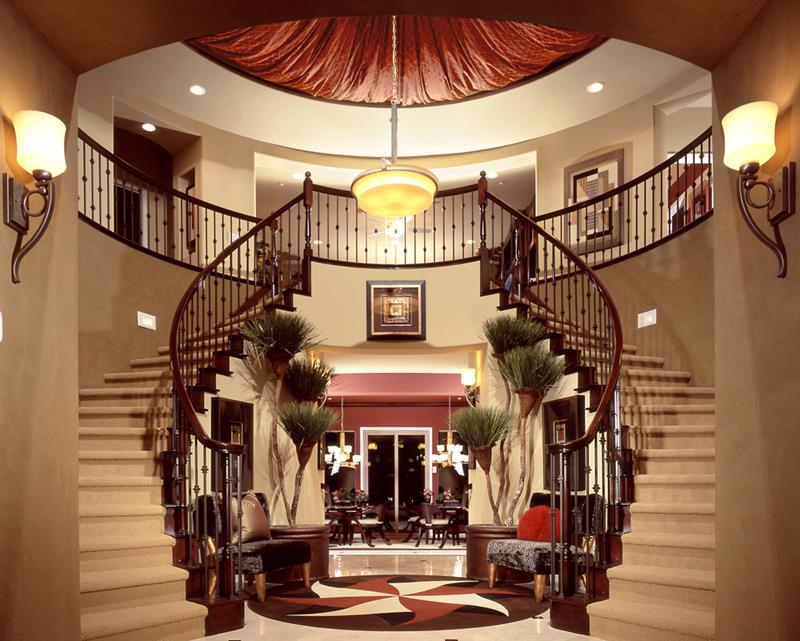56 Beautiful And Luxurious Foyer Designs-1