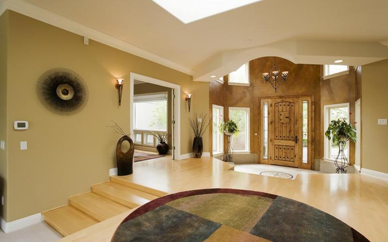 56 Beautiful And Luxurious Foyer Designs-10
