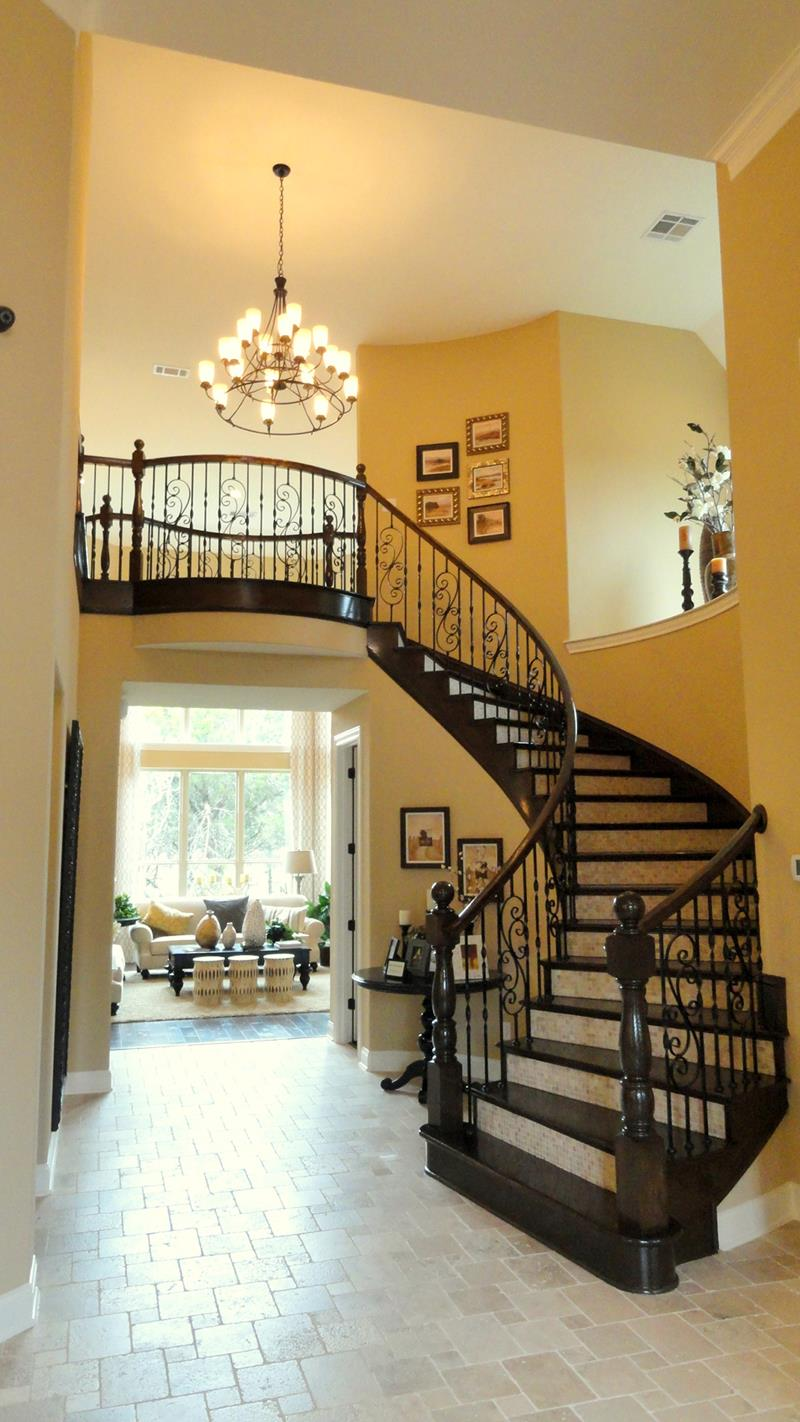 Toll Brothers Model Grand Staircase