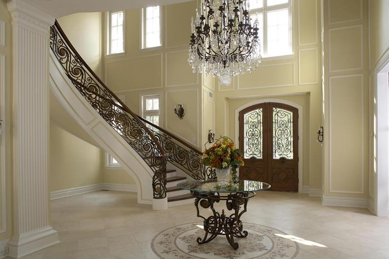 56 Beautiful And Luxurious Foyer Designs-2
